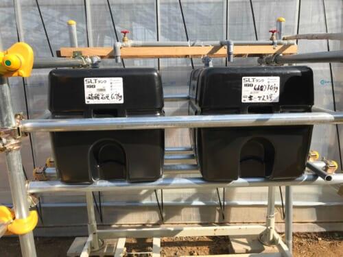 2液方式の液肥タンク